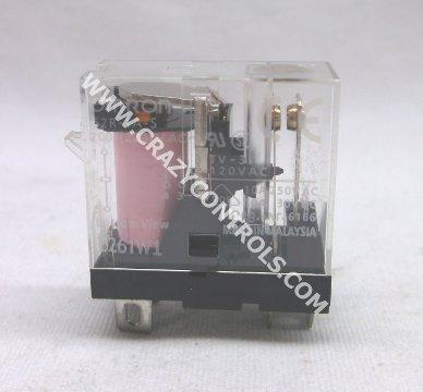 S OMRON 24V Relai mit LED 10A 250V 0978C mit Sockel G2R-1 SN